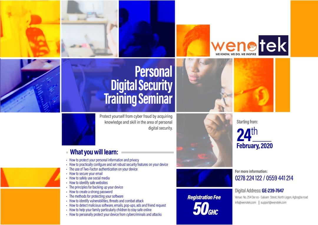 Personal digital training seminar