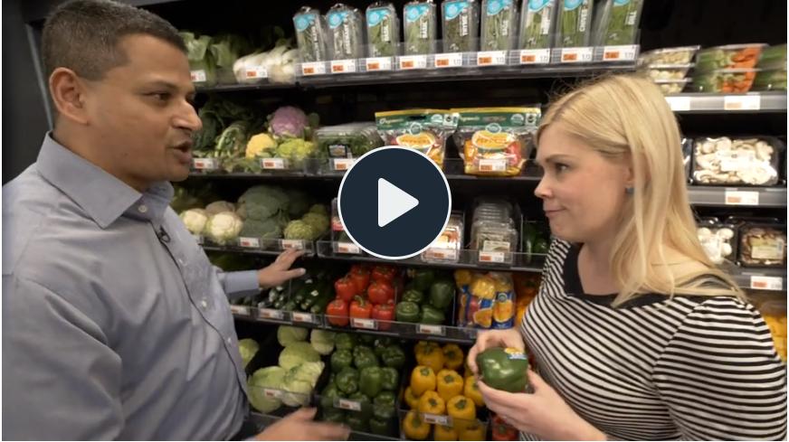 Inside Amazon's brand-new cashierless grocery store