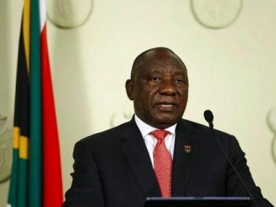 South African President announces three-week lockdown over coronavirus