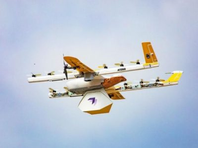 Google's Wing drones deliver library books to Virginia students