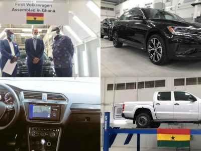 Minister for Trade & Industry pays working visit to VW Ghana assembly facility in Accra (Photos)