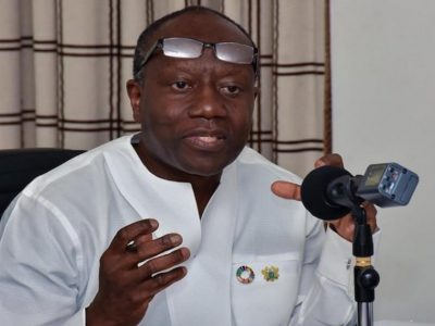 Mid-year budget review : No new tax will be introduced - Ken Ofori Atta
