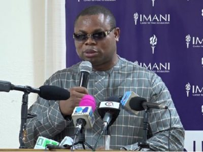 IMANI Center for Policy and Education to organize a presidential debate for presidential candidates of minor political parties and independent candidates