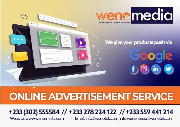 wenomedia online advert