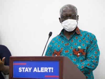 Senior Minister Osafo-Marfo tests positive for COVID-19