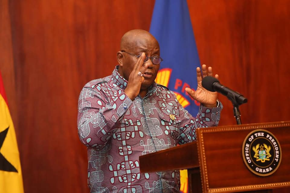 Akufo-Addo: I was not flown to UK for COVID-19 treatment