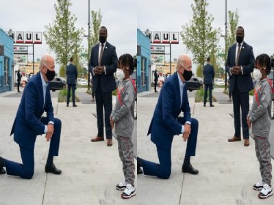 This Is Why Joe Biden Knelt Before Don Little In USA