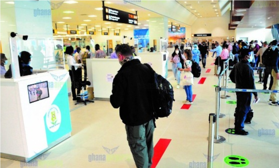 Kotoka International Airport records six COVID-19 cases since reopening