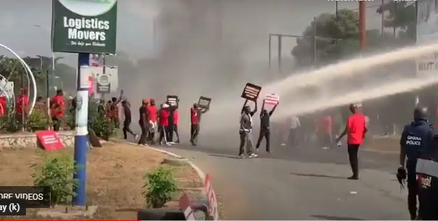 Ashanti Regional Security Council (REGSEC) has sounded caution to post-election protestors to desist from attacking government installations and public structures else their actions will be met with brute force to maintain law and order.