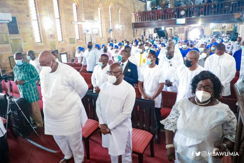 We Need Your Kind Of Political Leadership As A Nation – Anglican Bishop To Bawumia